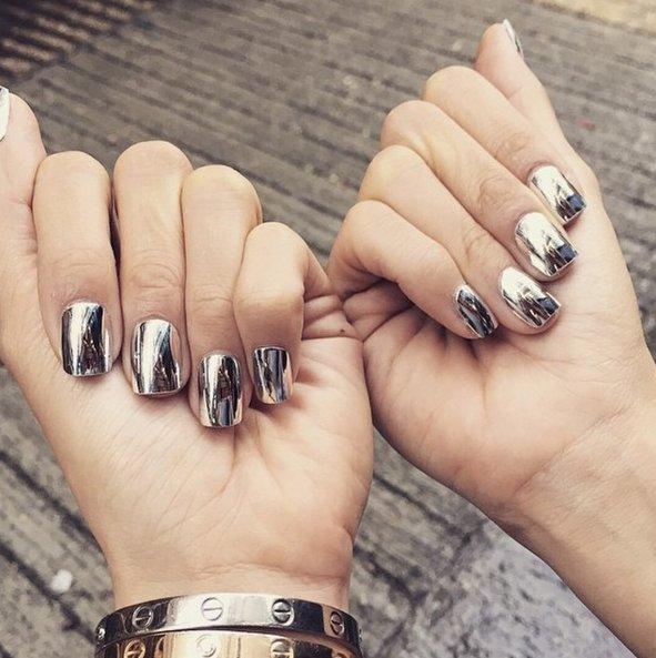 unghie metallo