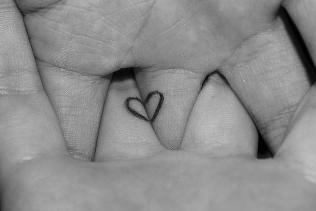 tatuaggi piccoli femminili in due