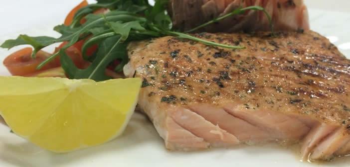 salmone alle erbe