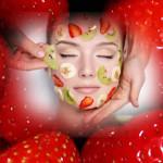 Maschere di bellezza con le fragole