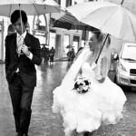 Matrimonio in primavera: rimedi in caso di pioggia