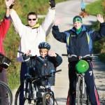 Pausa fitness in città: pedalata antistress nel parco