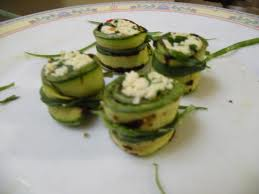 sushi zucchine