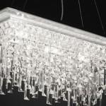 Arredare la casa in stile moderno con un lampadario moderno