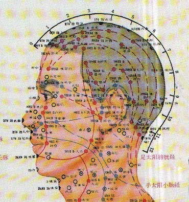 mappa agopuntura
