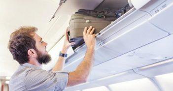 Bagagli a mano in aereo: dimensioni e pesi da rispettare