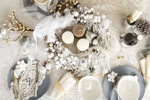 Natale in stile shabby chic