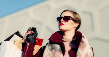 donna occhiali da sole inverno
