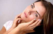 donna cura pelle viso