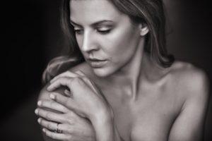 donna cura pelle corpo