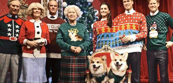maglioni natalizi famiglia reale inglese