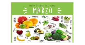 frutta e verdura di stagione marzo